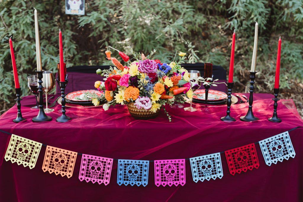 boda dia de muertos